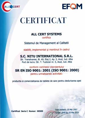 ISO nitu international